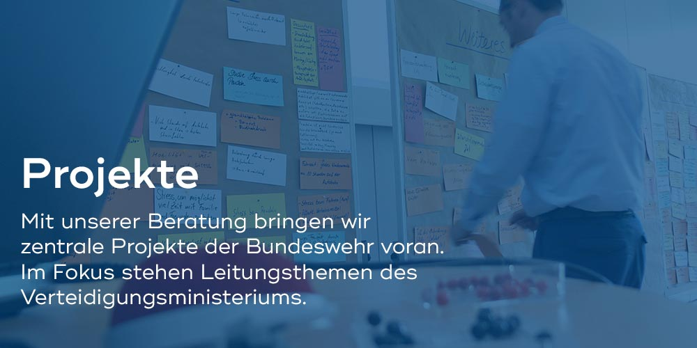 BwConsulting, Projekte