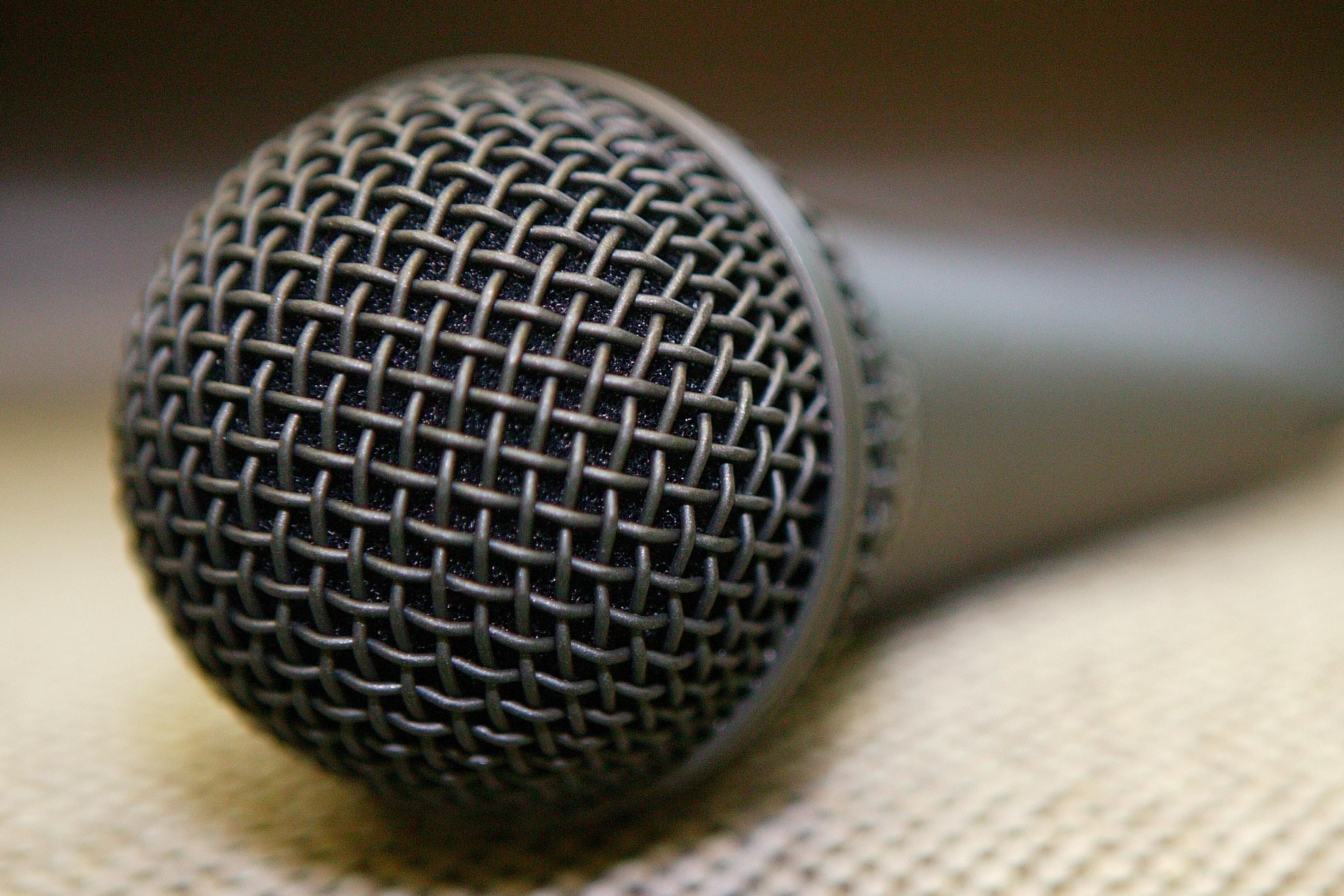 Bild News Mikrofon