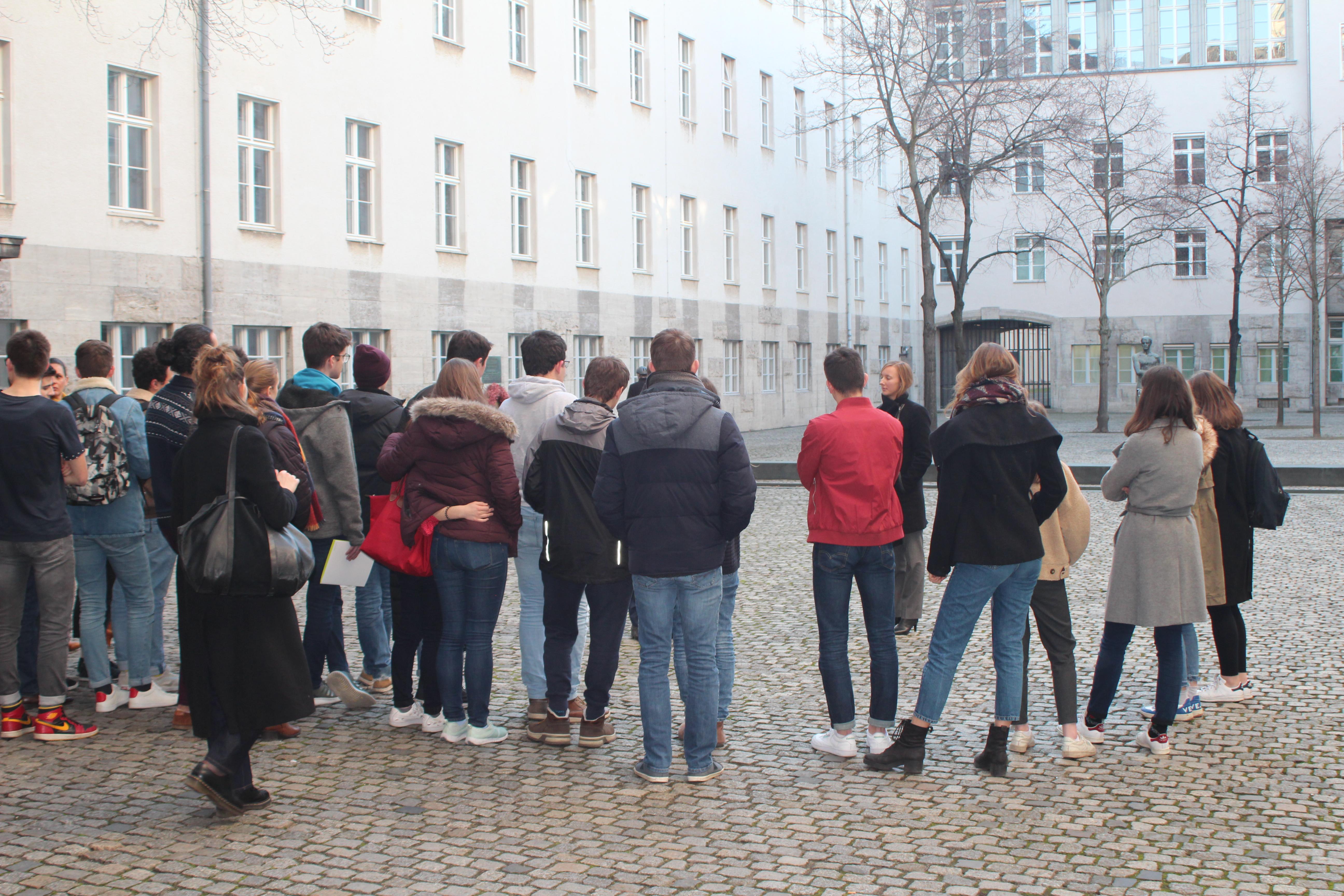 Besichtigung Gedenkstätte Deutscher Widerstand