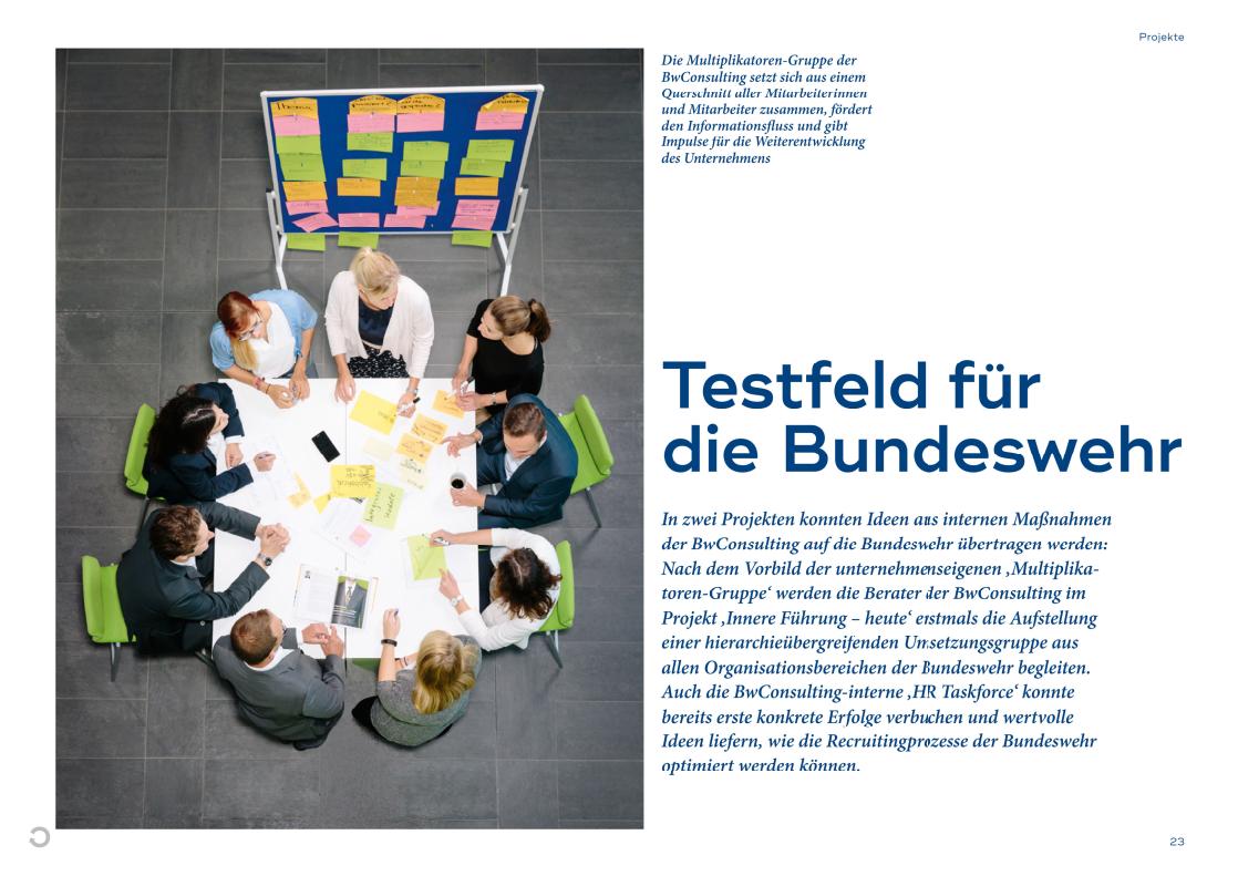 Wie wir Erkenntnisse aus internen Projekten für unsere Beratungsarbeit nutzen - eine Reportage aus unserem Magazin copilot