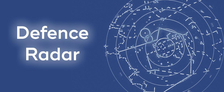 Symbolbild eines Radarschirms