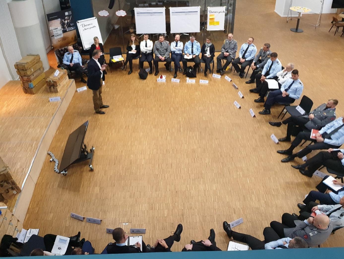 05.11.2019, Berlin, Cyber Innovation Hub: Sitzung des Evaluierungsteams