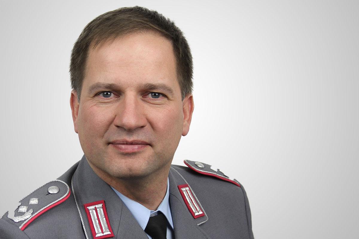 Oberstleutnant Tobias Brösdorf